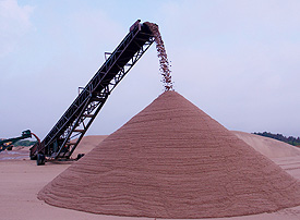 Crushed Black Granite