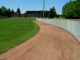 Completed Warning Track Rejuvenation