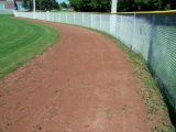 Warning Track Pre-Rejuvenation