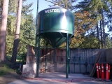 Capilano golf cc dried sand silo