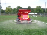 Topdressing your turfgrass is essential in keeping your Sports Fields and Golf Courses in optimum playing condition