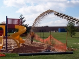 Playground Sand Installation