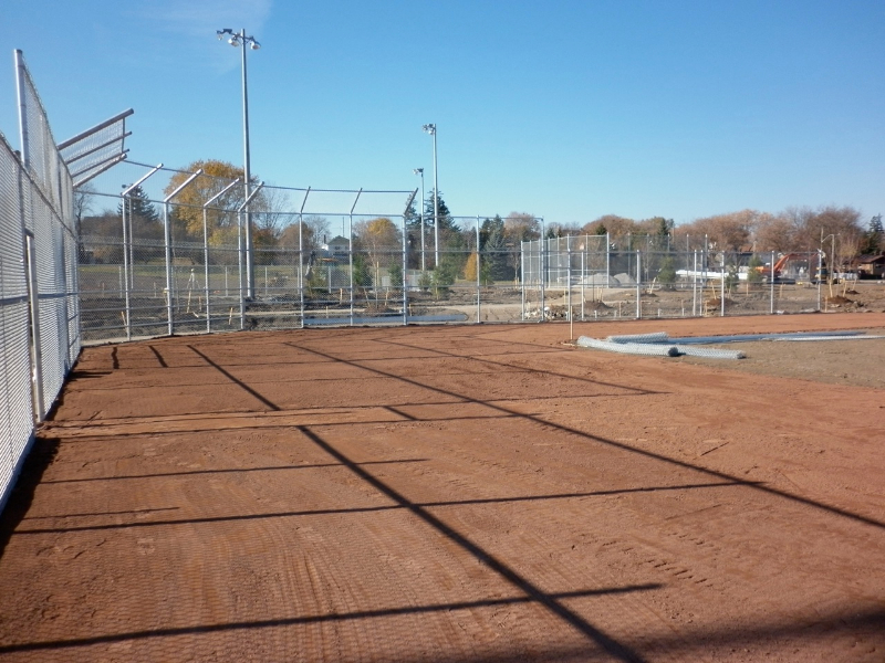 Pro Diamond Infield Mix Installation