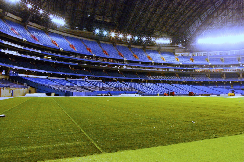 ProTurf Infill Sand & Crumb Rubber, Rogers Centre
