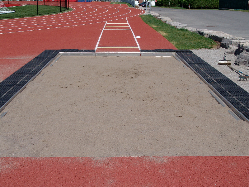 Jumping Pit Sand