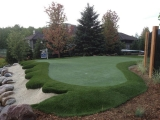 Residential Synthetic Turf Golf Green