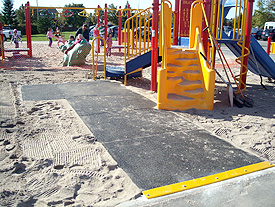 Accessible Playground Sand