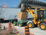 BMO Field Sand Installation