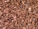 "3/4"" Crushed Brick"