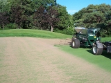 Topgressing Sand Application