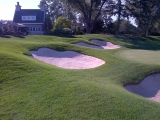 Burlington golf cc 18th hole2