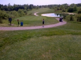 7th hole at victoria valley gc in guelph on